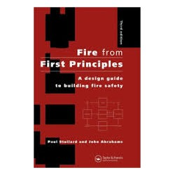 Fire from First Principles A design guide to building fire safety