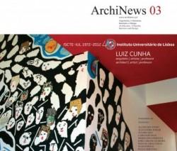 ArchiNews 03 Luiz Cunha ISCTE-IUL 40 anos - Edição Especial 2012