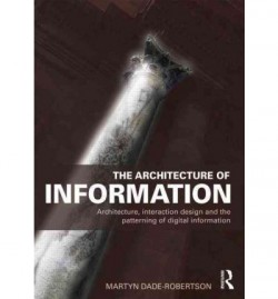 The architecture of Information. Architecture, interaction design and the patterning of digital information