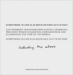 Cine Arch 3 Fact & Fiction - Everything in Life is as Much Fiction as it is Fact