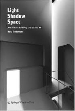 Light Shadow Space architectural rendering with cinema 4D