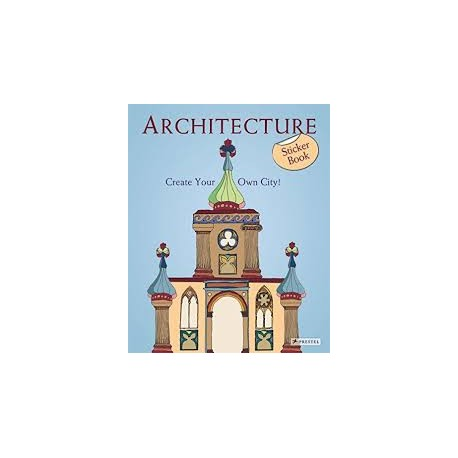 Architecture - create your own city  sticker book