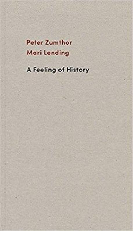 Peter Zumthor Mari Lending A Feeling of History