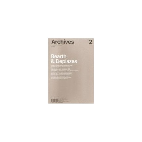 Archives 2 Journal of Architecture 12.2017 Bearth & Deplazes