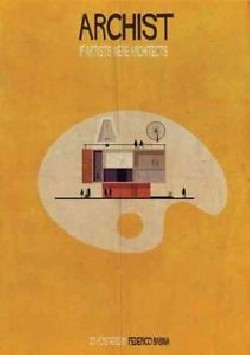 Archist If Artists Were Architects 30 posters by Federico Babina
