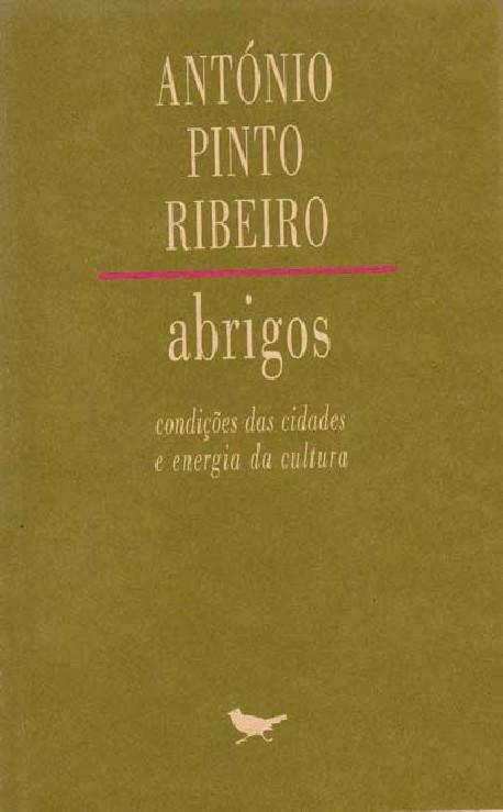 Abrigos CONDIÇÕES DAS CIDADES E ENERGIA DA CULTURA