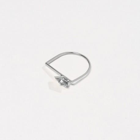 Anel B-ARCA Prata 925 silver ring