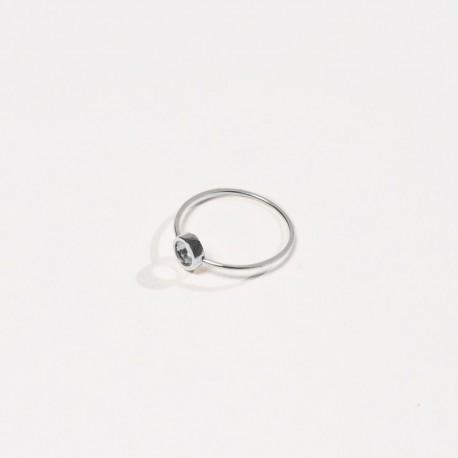 Anel CERCHIO Prata 925 silver ring