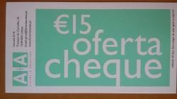 Cheque Oferta 15€