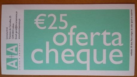 Cheque Oferta 25 €