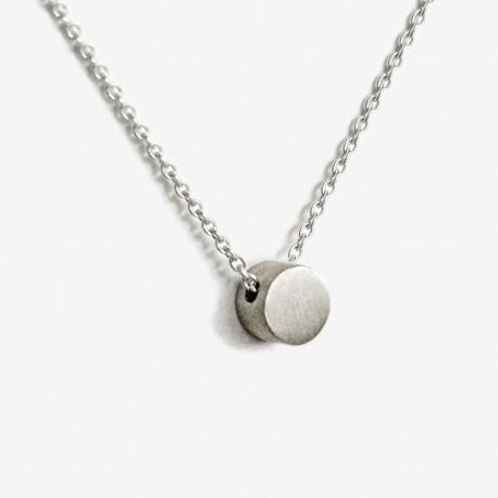 Colar CIRCLE OF LIFE prata 925 silver necklace