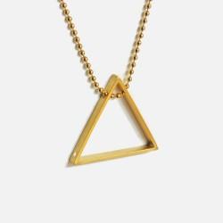 Colar D'ANGOLO prata 925 plaqueado a ouro gold plated necklace