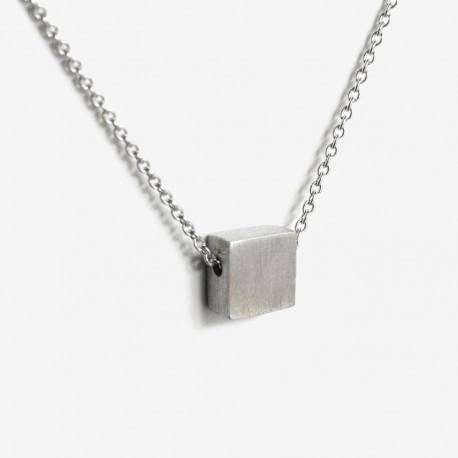 Colar A PROMISE prata 925 silver necklace
