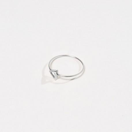 Anel TRIANGOLO Prata 925 silver ring