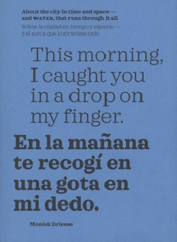 Moniek Driesse - This Morning I Caught You In A Drop On My Finger