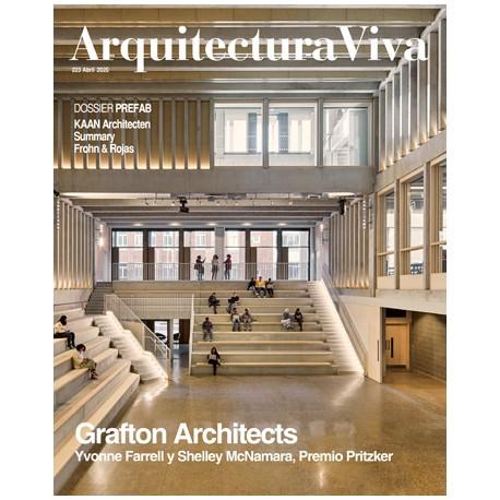 Arquitectura Viva 223 Abril 2020 Grafton Architects Yvonne Farrell y Shelley McNamara, Premio Pritzker