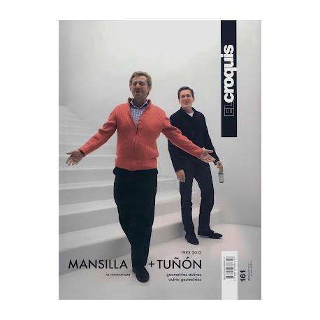 El Croquis 161 Mansilla + Tuñón 1992-2012
