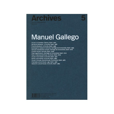 Archives 5 Journal of Architecture 09.2019 Manuel Gallego