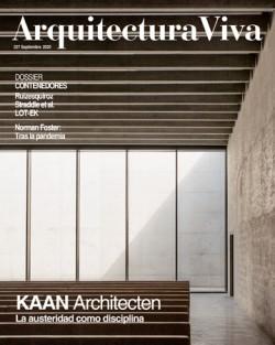 Arquitectura Viva 227 Septiembre 2020 KAAN Architecten
