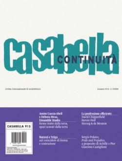 Casabella 915 11/2020