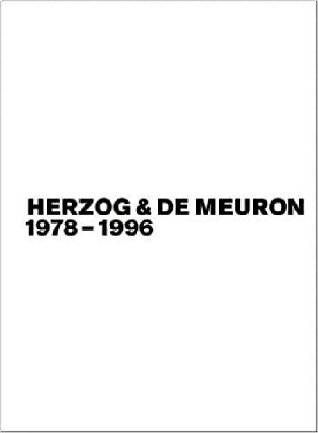 Herzog & De Meuron 1978-1996  Vols 1-3  Set