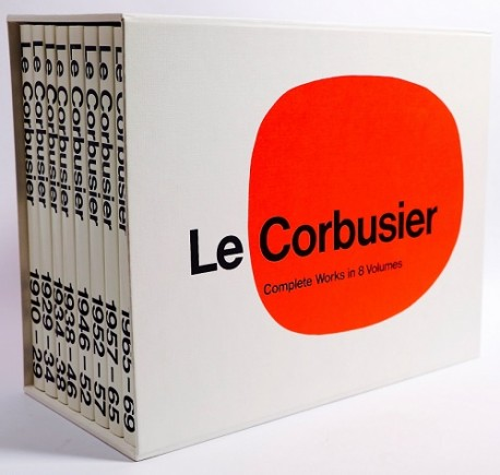 Le Corbusier complete work in 8 vols.