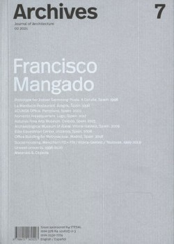 Archives 7 Journal of Architecture 02.2021 Francisco Mangado