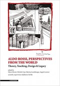 Aldo Rossi Perspectives from the world. Theory, Teaching, Design and Legacy