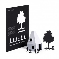ARCHIPAPER paper model kit - maquete para montar