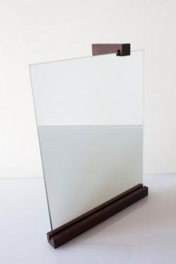 Espelho vertical - Pau Santo