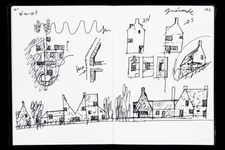 Arte Numérica - Eduardo Souto Moura- 3ª edição da série desenhos de arquitectura