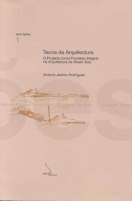 Seis Lições 1 Teoria da arquitectura. o projecto como processo integral na arquitectura de Álvaro Siza